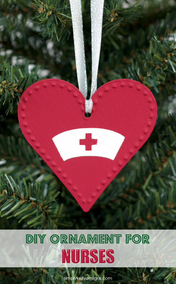 DIY Nurse Ornament