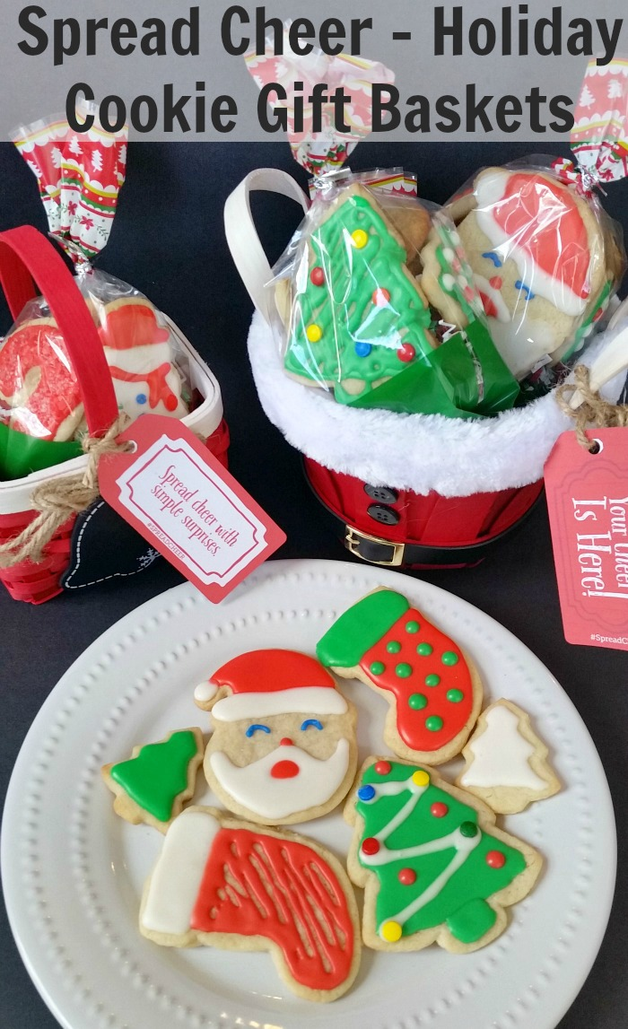Spread Cheer - Holiday Cookie Gift Baskets