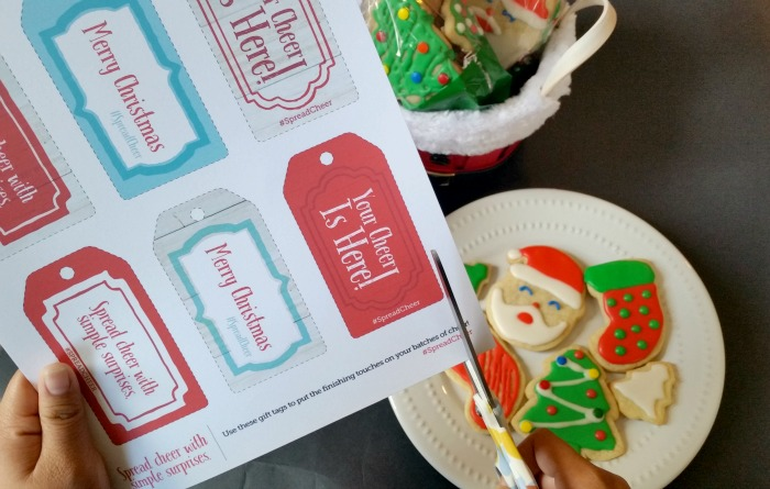 #SpreadCheer Gift Tags