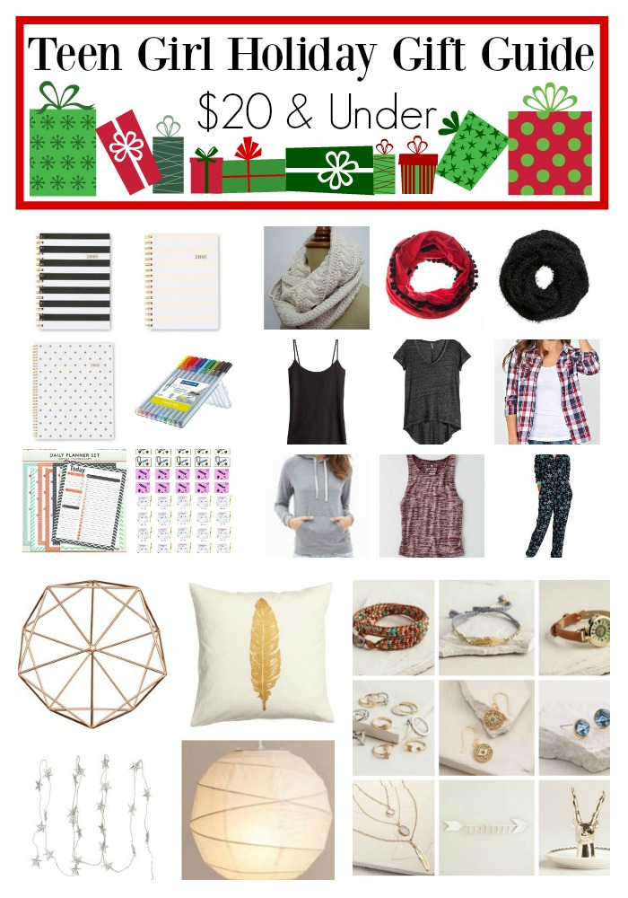 Teen Girl Holiday Gift Guide - Under $20