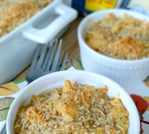 Cheesy Shrimp Mac-n-Cheese
