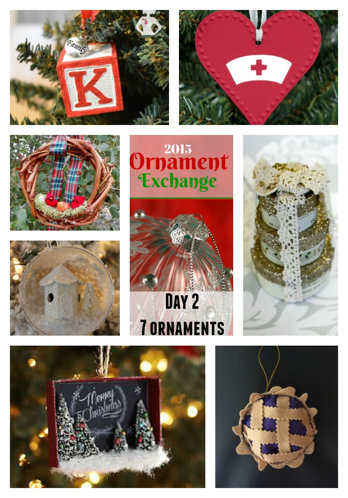 2015 Ornament Exchange Day 2