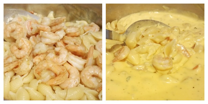 Shrimp and Kraft Cheese