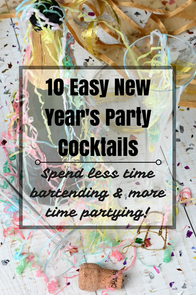 10 Easy New Year's Party Cocktails