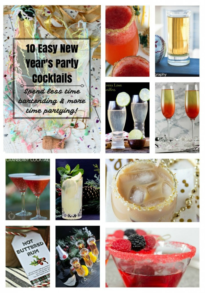 10 easy new years party cocktails