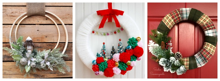 Days of christmas unique holiday wreaths