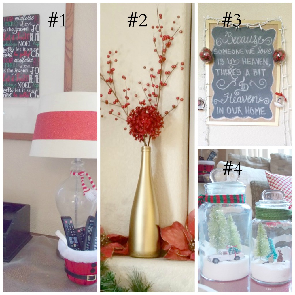 2015 Holiday Homes Blog Hop Thrifty Decor