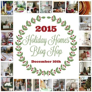 2015 Holiday Homes Tour Blog Hop