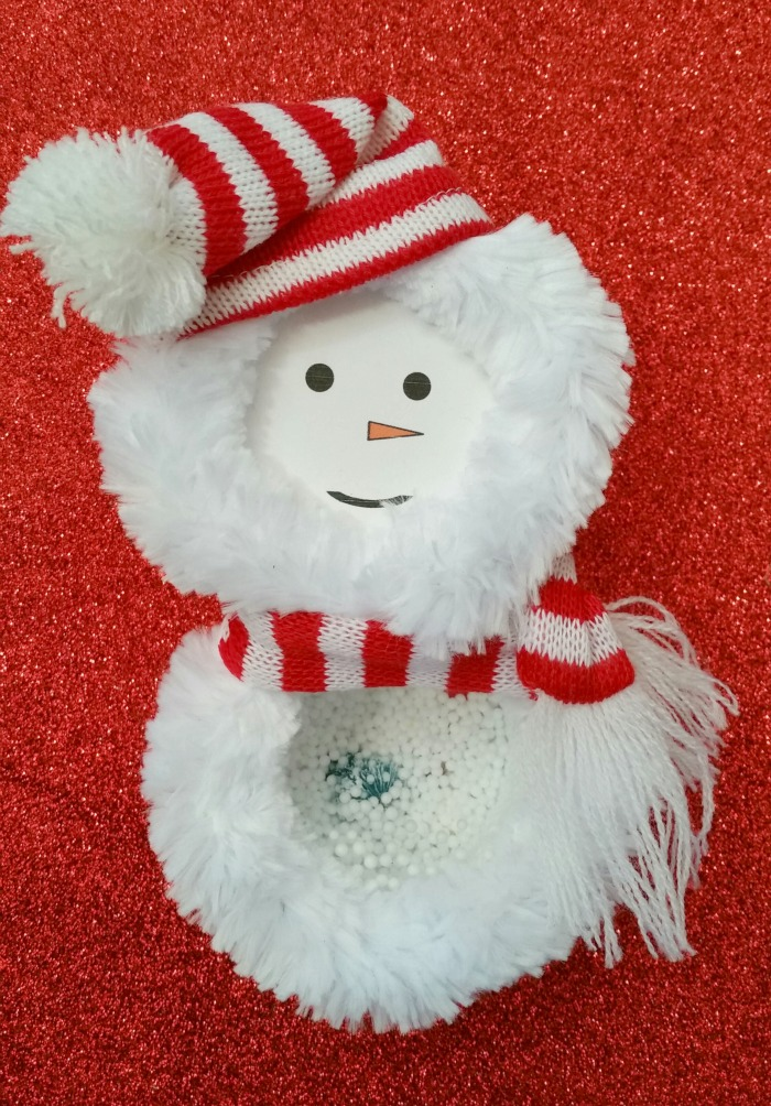 Thrift Store Swap Reveal Snowman