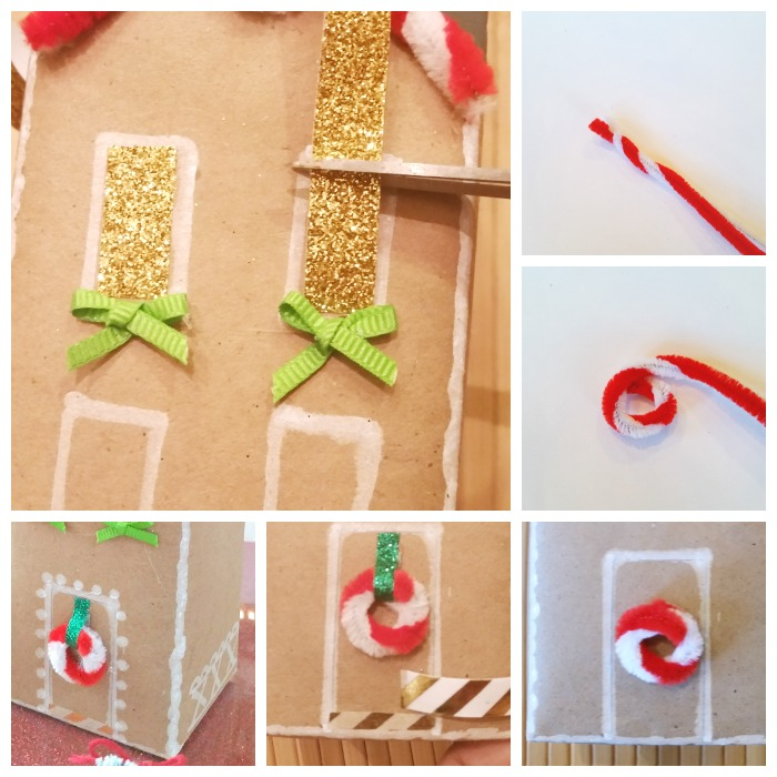 Gingerbread cookie box details