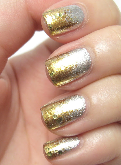 Gold & Silver Nails