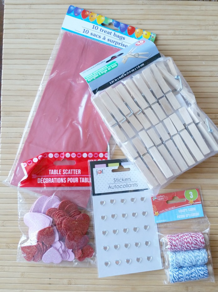 Valentine's Day Blog Hop Arrow Clips Supplies