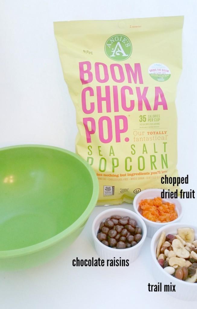 Boomchickapop trail mix popcorn