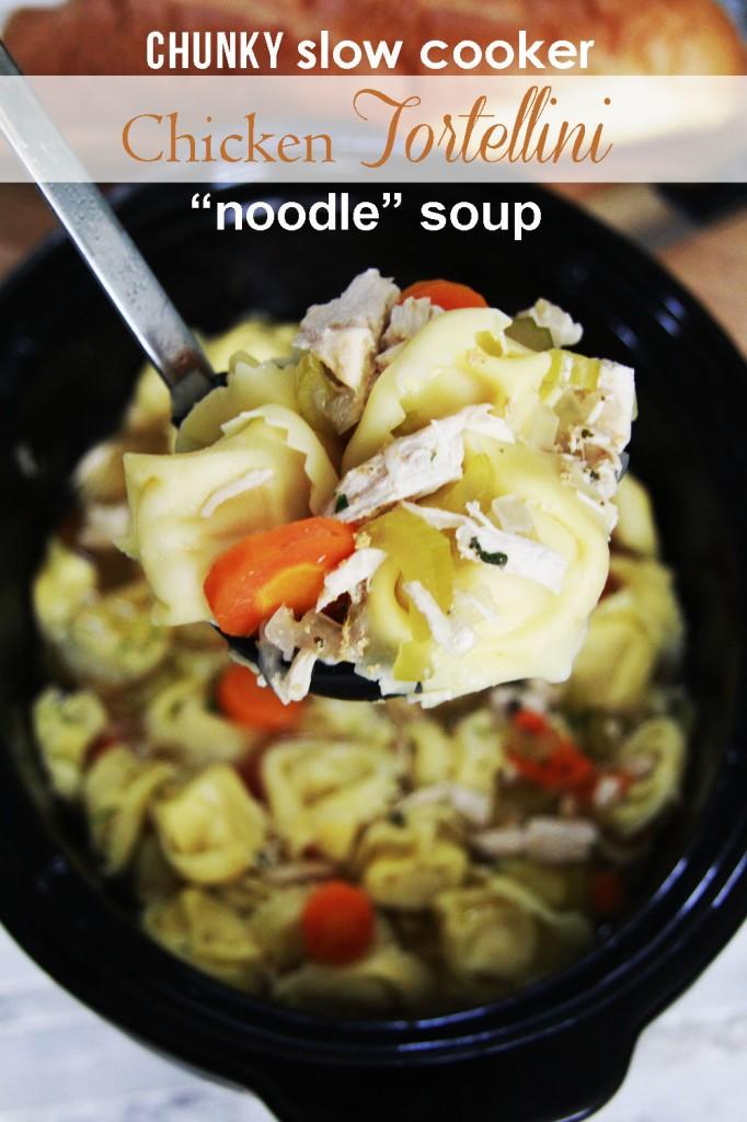 Chicken Tortellini Noodle Soup