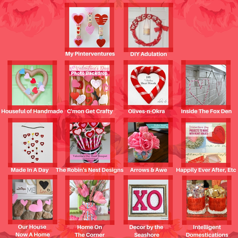 Valentine's Day Blog Hop - projects