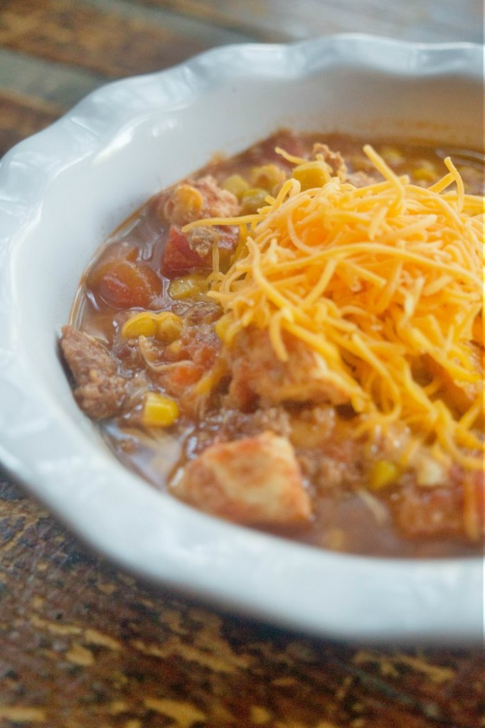 Skinny Crockpot Brunswick Stew