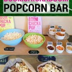 Game Day Boomchickapop Popcorn Bar
