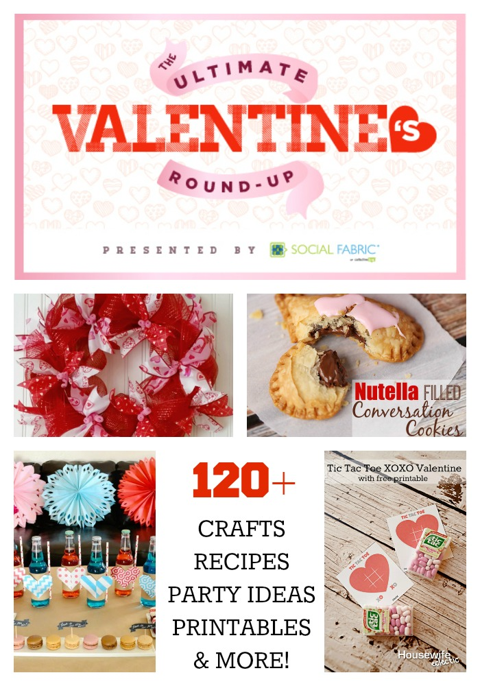 The Ultimate Valentine's Day Round-up presented by Social Fabric - over 120 ideas!