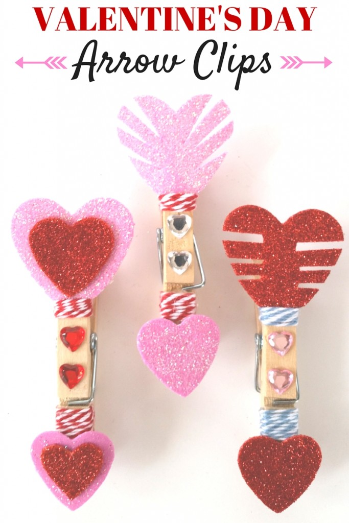 Valentine's Day Blog Hop - Arrow Clips