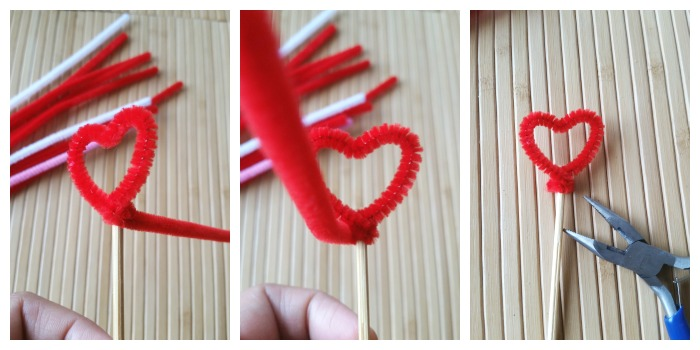 Finish Valentine Heart Cupcake Topper