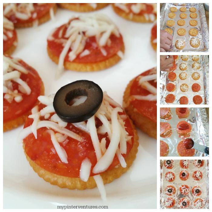 PIzza bites #BowlTimeSnacks