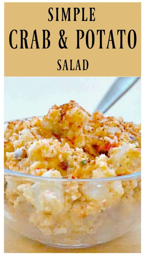Imitation Crab and Potato Salad
