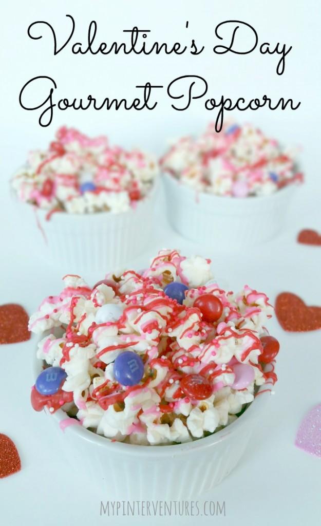 Valentine's Day Gourmet Popcorn