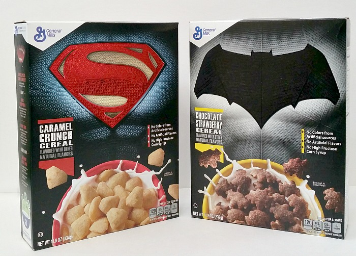 Batman & Superman Cereal
