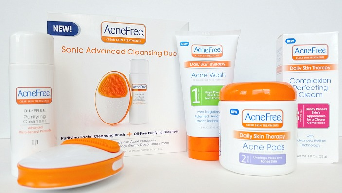 AcneFree Sonic Advanced Cleansing Duo