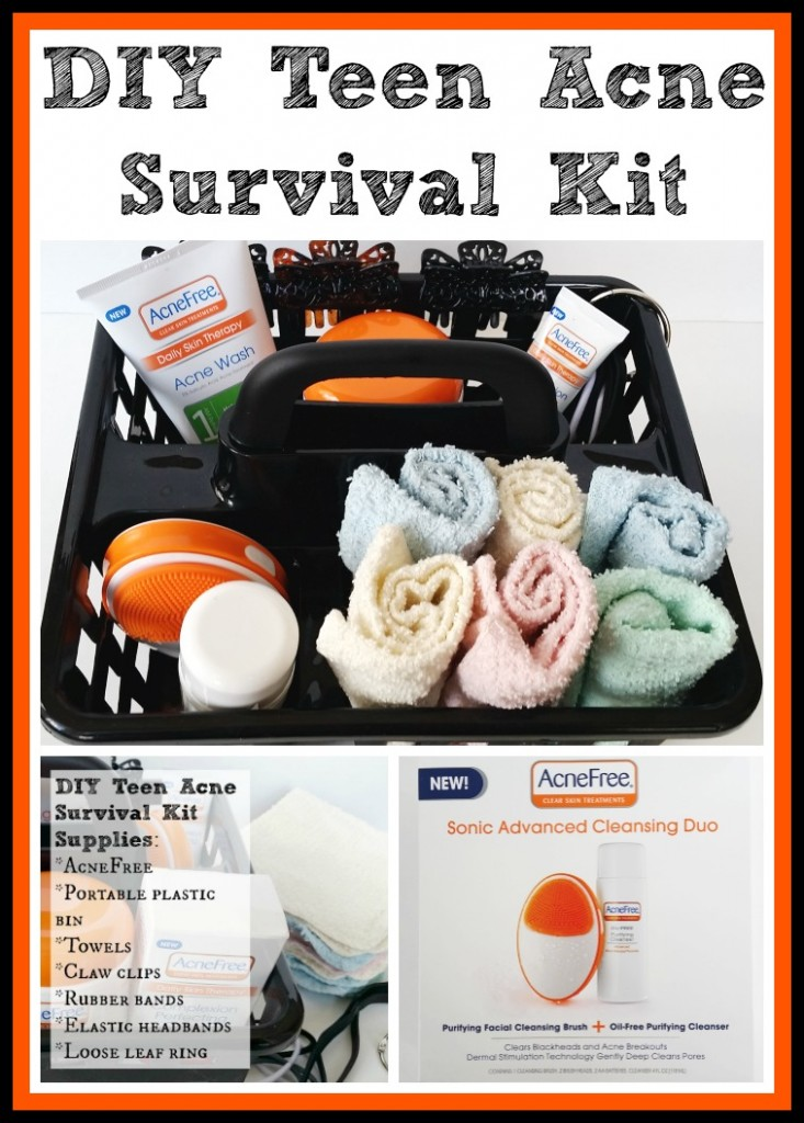 DIY Teen Acne Survival Kit #acnefree123