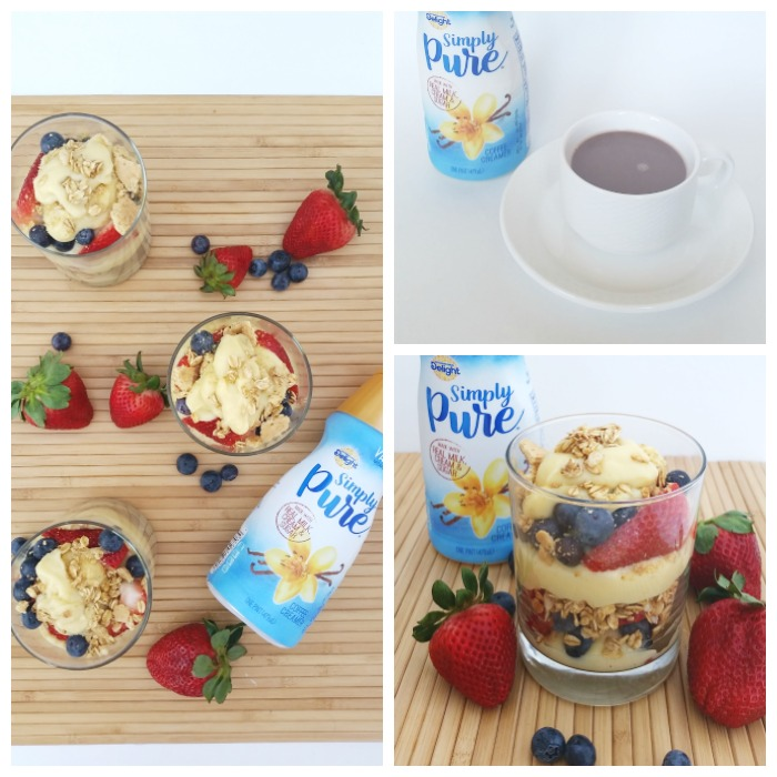 International Delight Simply Pure Pudding Cups