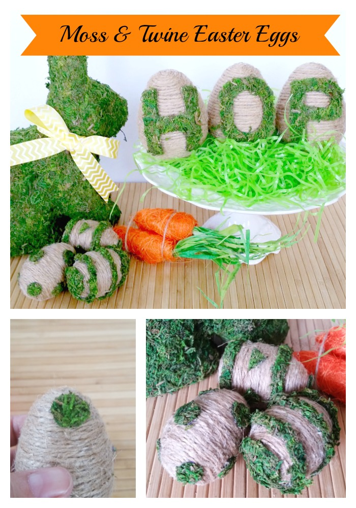 Moss & Twine Easter Eggs