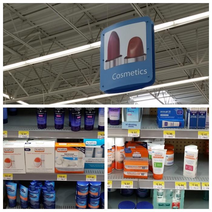 AcneFree at Walmart