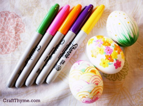 Marker Easter Eggs