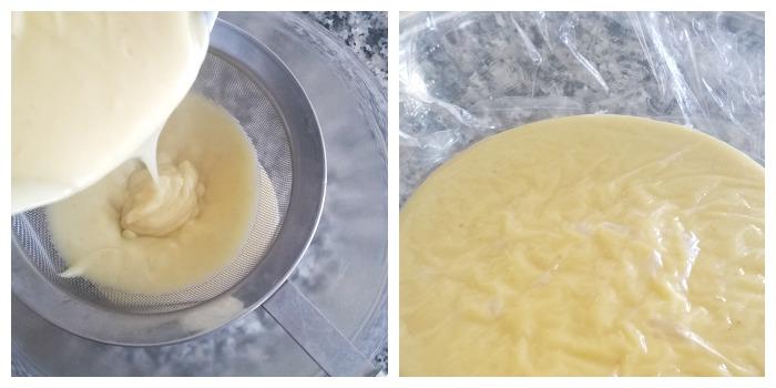 strain pudding