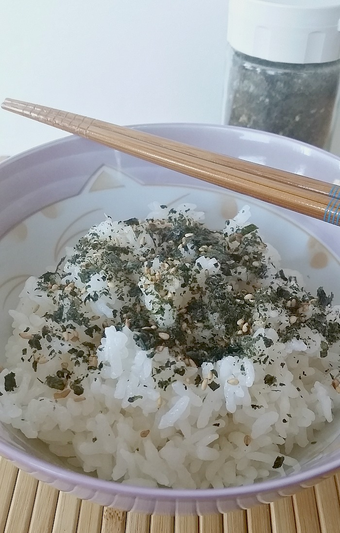 Homemade Furikake Rice