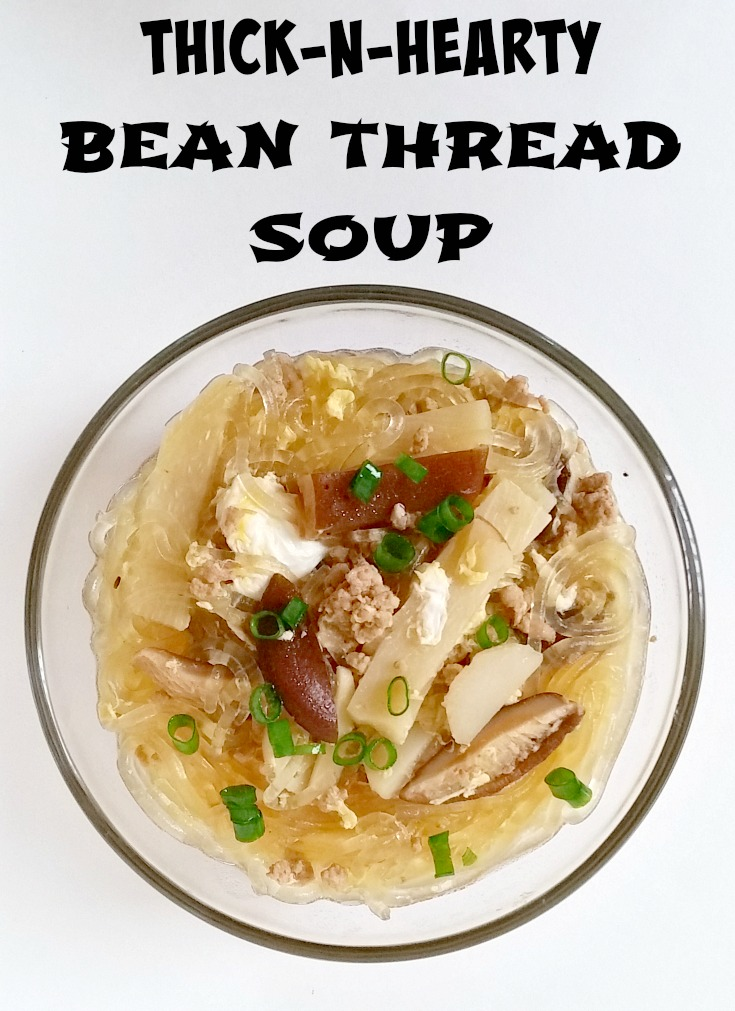 thicken broth bean soup