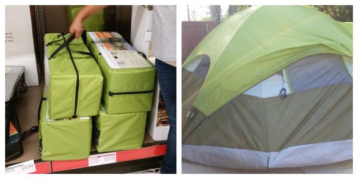 ALDI tent