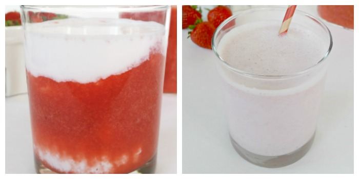 DIY Homemade Strawberry Milk