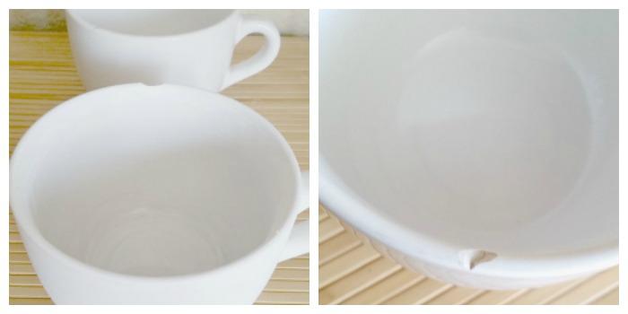 chipped mugs