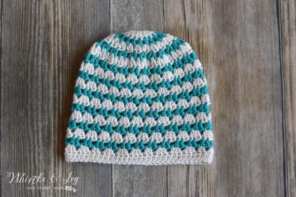 Crochet Summer Festival Slouchy Hat