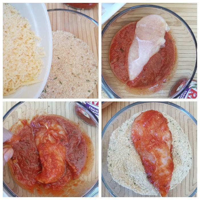 dip chicken