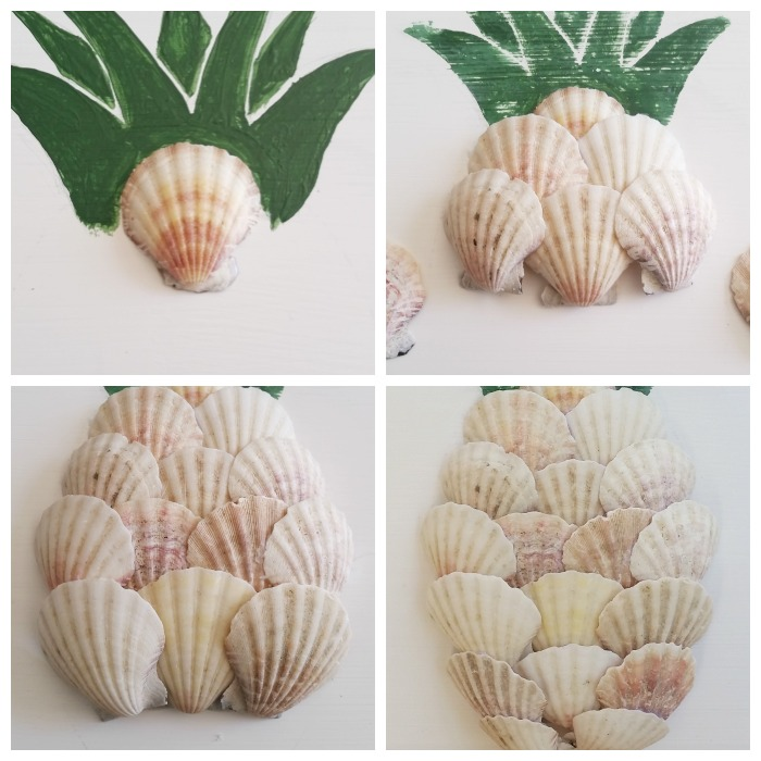 Seashell pineapple