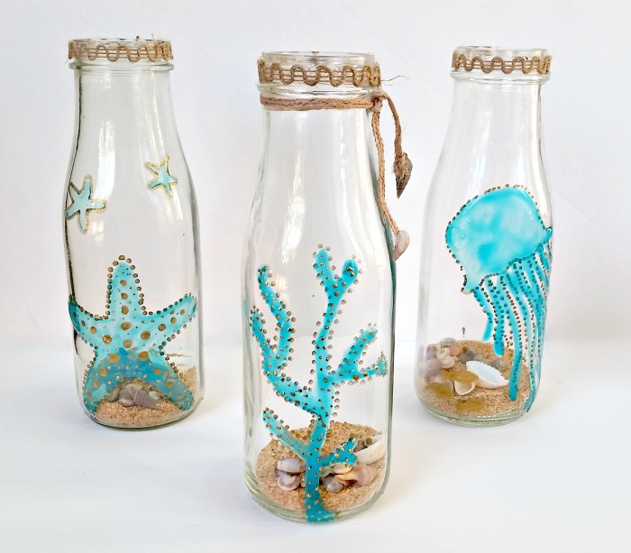 Gallery Glass Sea Art Bottles
