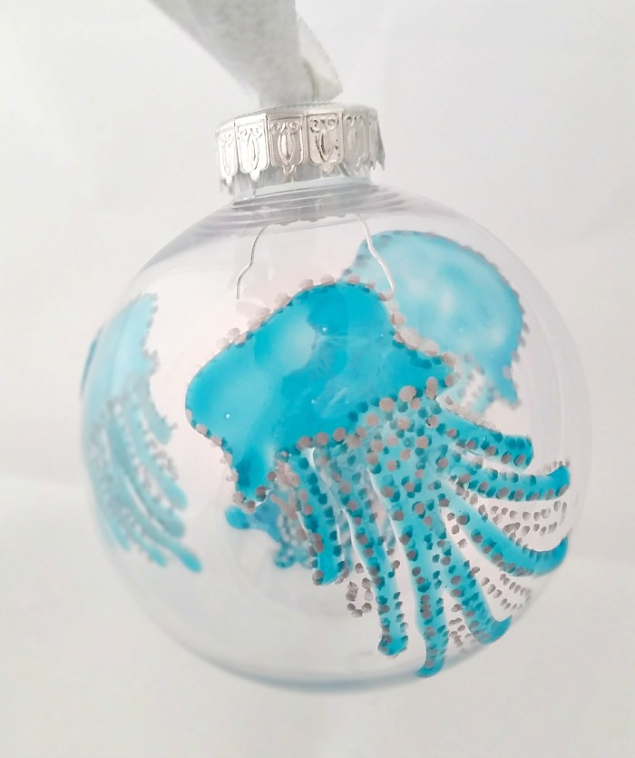 Dry Gallery Glass Sea Art Ornament