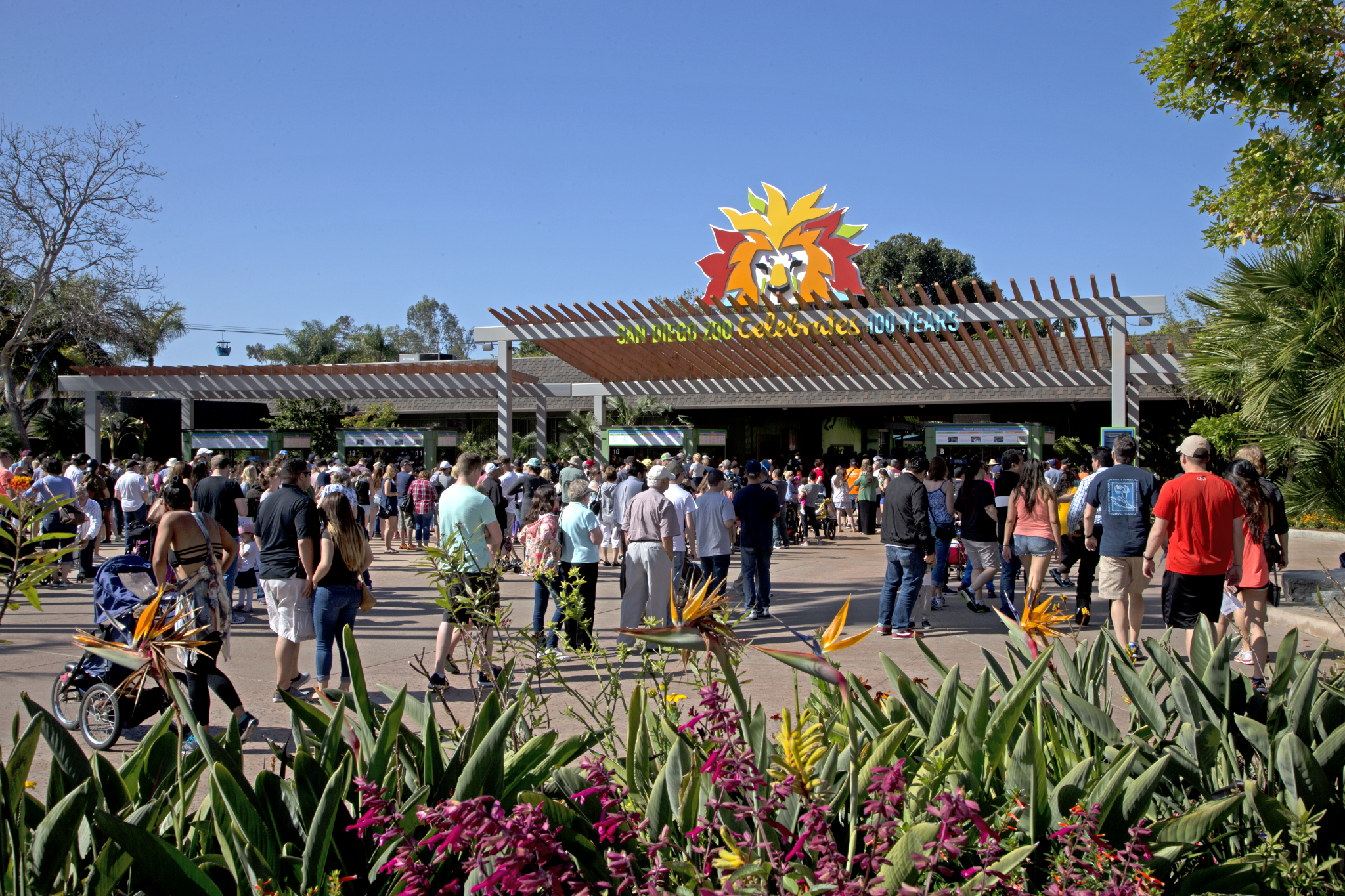San Diego Zoo Front Entrance