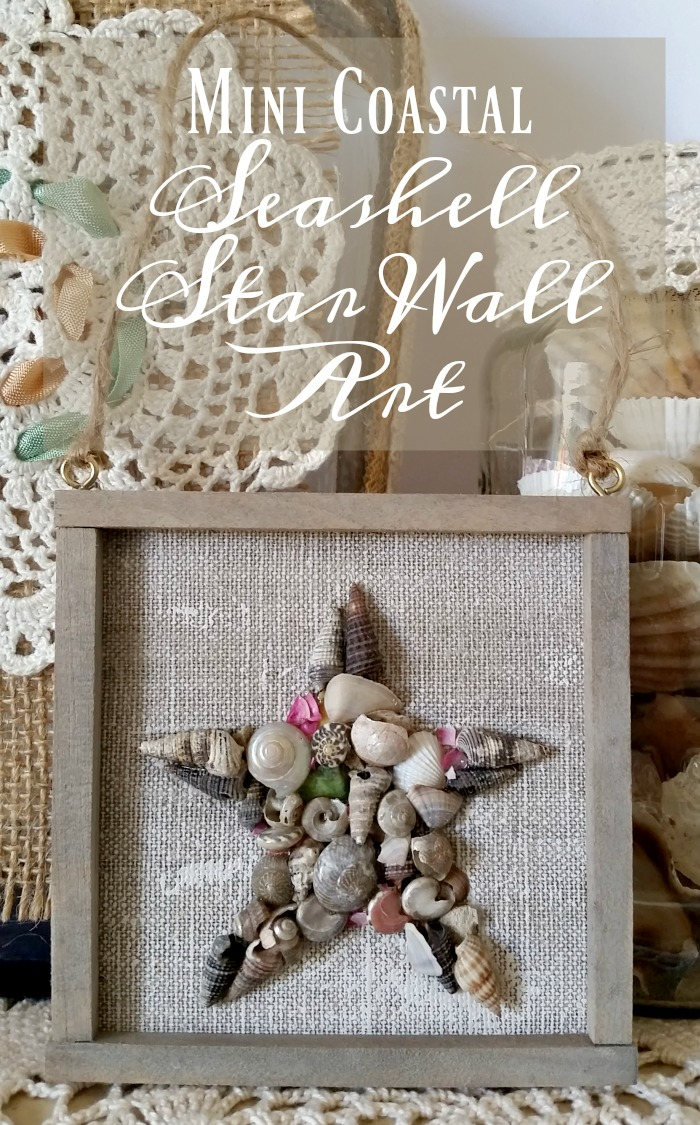 Mini Seashell Star Wall Art