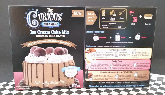 The Curious Creamery Ice Cream Cake Mix