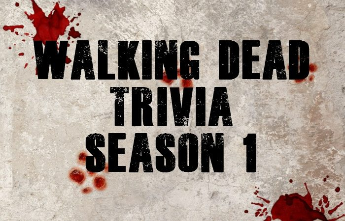 Walking Dead Trivia Game Printable – Season 1