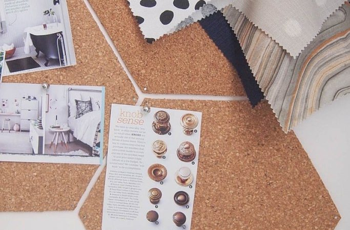 Hex Cork Boards Merry Monday Link Party #117